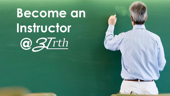 become and instructor at arth institute