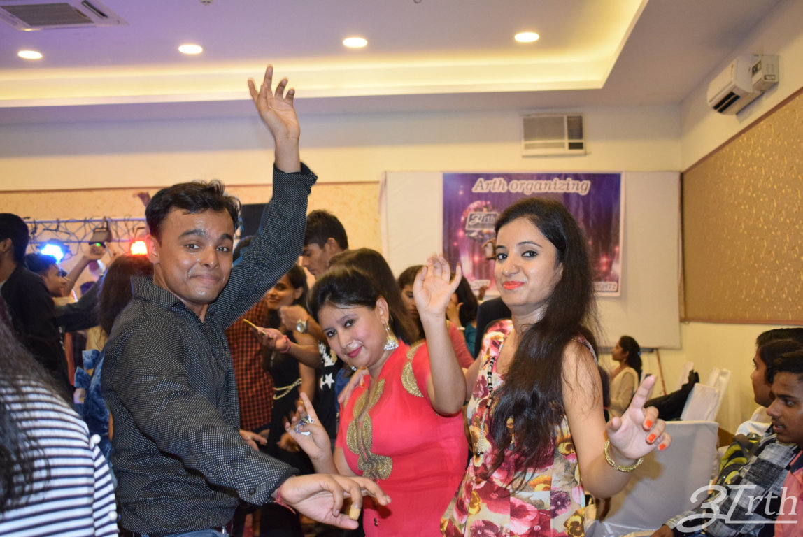 Arth institute's Fresher's Party 2016